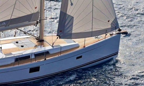 Sailing Yacht Hanse 455 In Pattaya