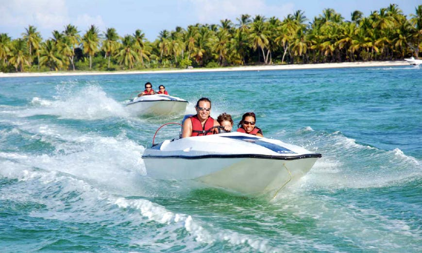 Guided Speed Boat Excursion Punta Cana, Dominican Republic