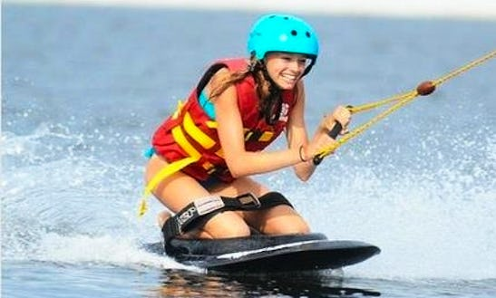Enjoy Kneeboarding In Kecamatan Gianyar, Indonesia