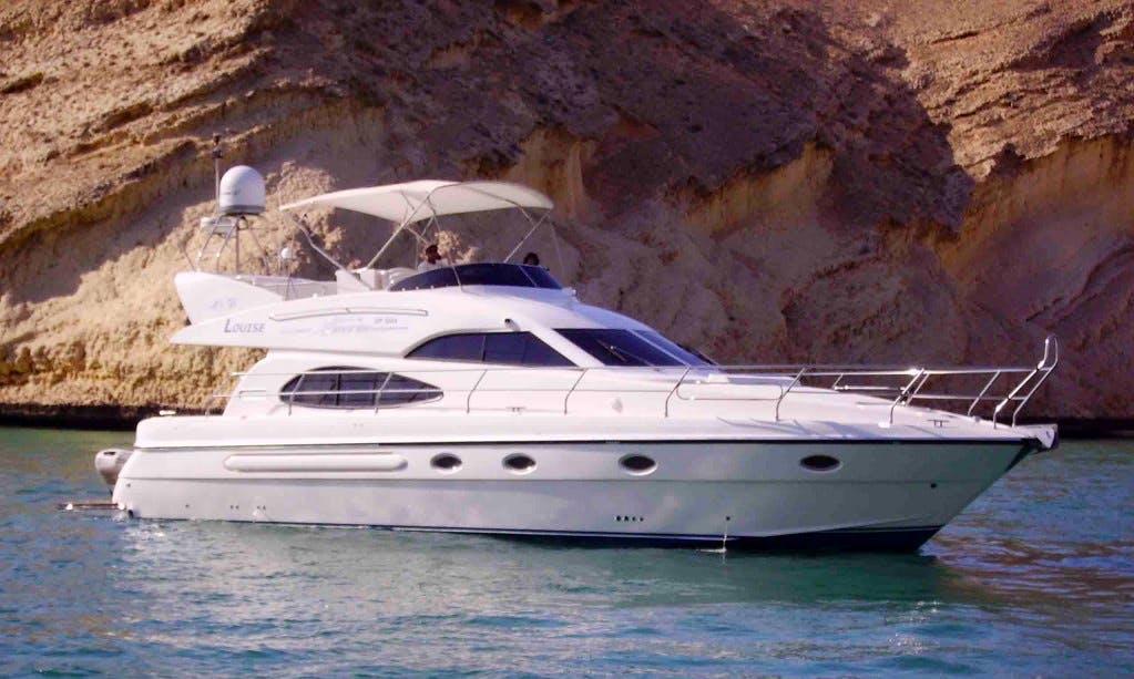 Charter a Motor Yacht in Muscat, Oman