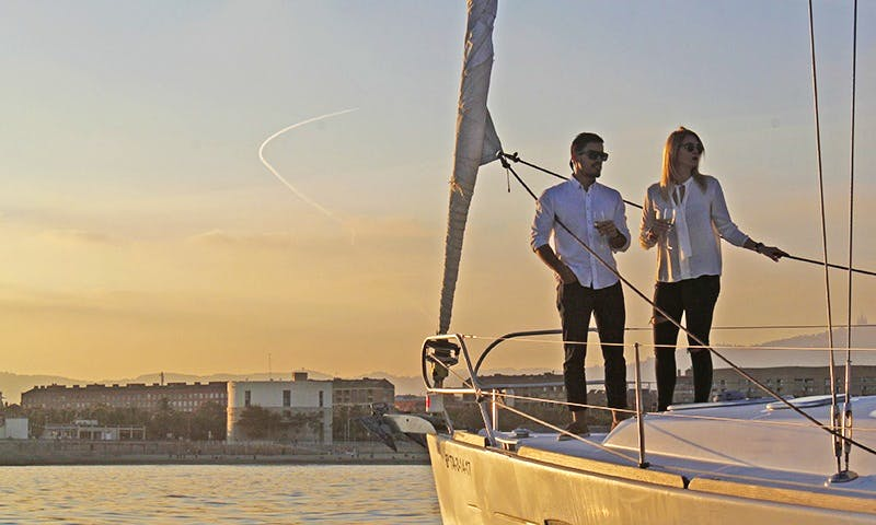 Romantic Sailing&Night Experience at Barcelona