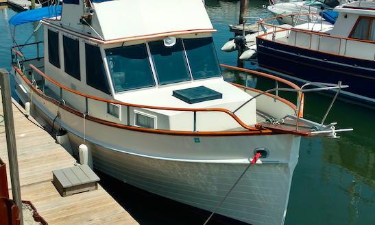 Charter 42' Trawler In Mt Desert, Maine | GetMyBoat
