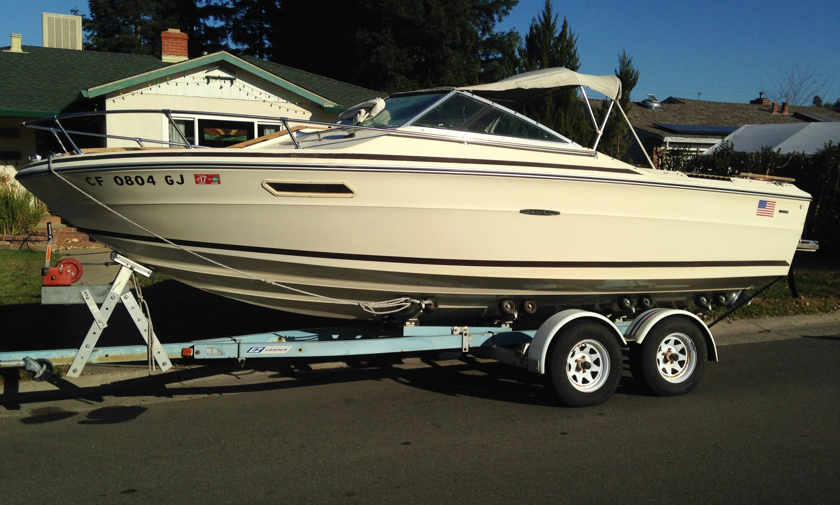 20' Sea Ray SRV 200 Bowrider Rental In Isleton, California