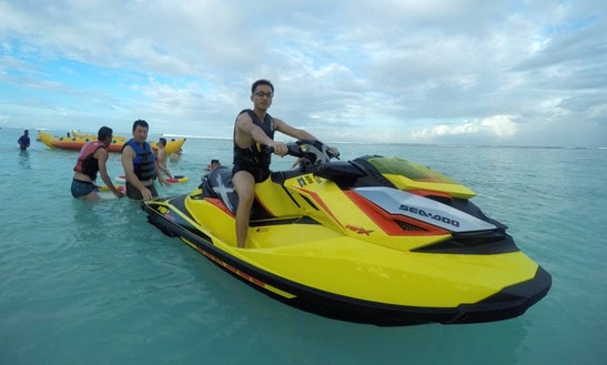 Ride A Seadoo Jet Ski In Malé, Maldives