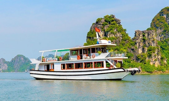 Halong Bay One Day Tour With Wonderbay Cruises