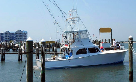 Fishing Charter On 52ft 'jade Ii' Yacht In Ocean City, Maryland