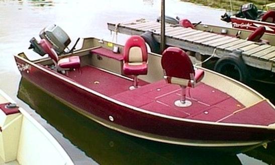 19.5 Princecraft Boat Rental In Callander