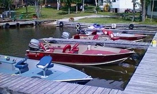 17.5' Lund Boat Rental In Callander