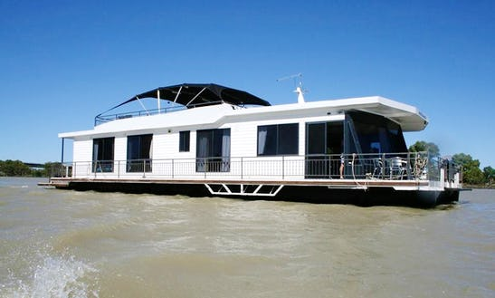 Hire 66' Fifth Dimension Houseboat In Murray Bridge, South Australia