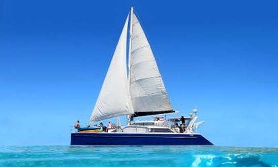 Enjoy 55 Ft 'windcheetah' Sailing Catamaran Charter In Exmouth, Western Australia