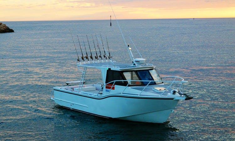 Enjoy 30 ft  Fishing Charters in Hillarys, Western Australia