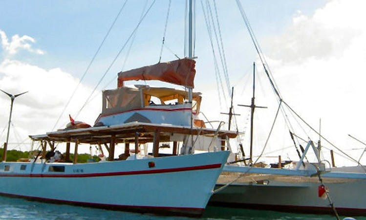 48ft Motorsailer-Catamaran Rental in Denpasar