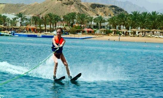 Water Skiing In South Sinai