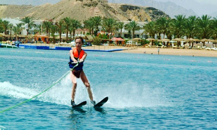 Water Skiing in South Sinai