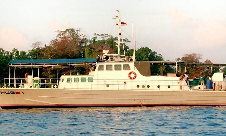 82ft  Surf Charter in Mentawi Island, Indonesia
