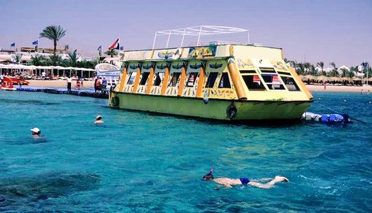 Glass Bottom Boat In South Sinai