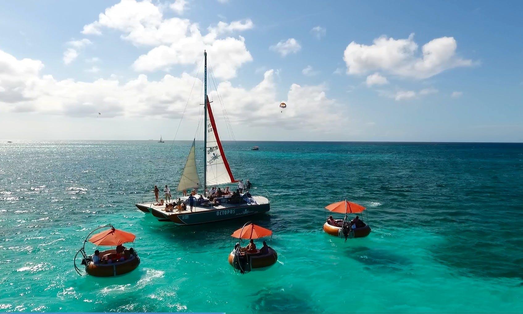 "Sailing Cruises on 40ft ""Octopus"" Trimaran in Noord, Aruba"