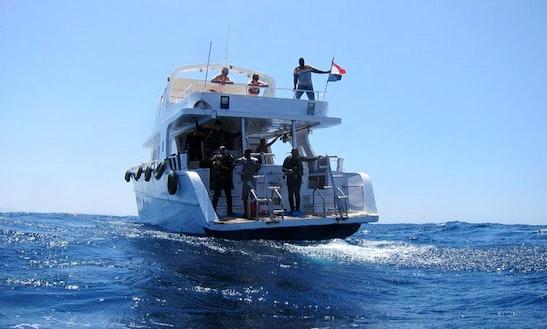 Motor Yacht Diving Trips In Mashraba, Egypt