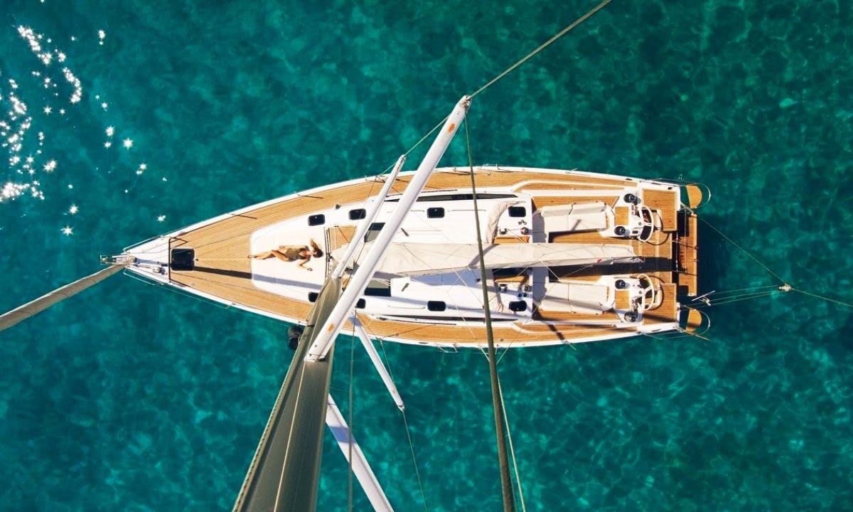 2018 Elan 50 Cruising Monohull rental in Trogir Croatia