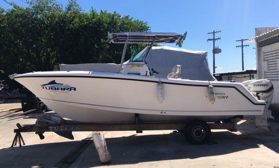 Enjoy Fishing In Salvador, Brazil On 26' Tubara Center Console