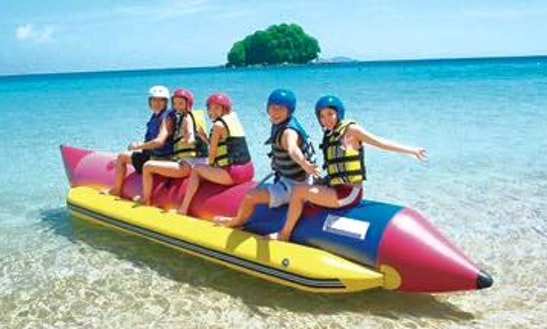 Enjoy Tubing In Muang Pattaya, Thailand
