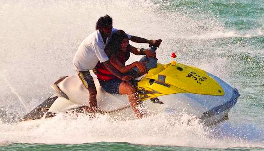 Experience The Exhilaration Of Riding A Jetski In Maharashtra, India