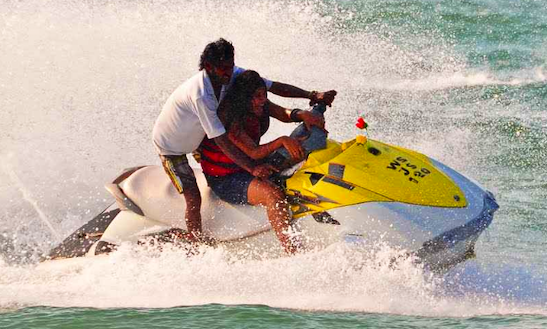 Experience The Exhilaration Of Riding A Jetski In Maharashtra, India