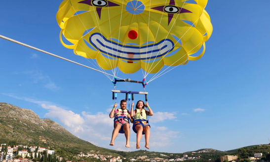 Enjoy Parasailing In Dubrovnik, Croatia
