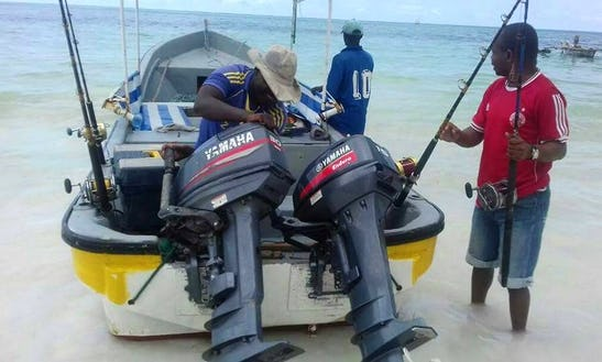 Enjoy Fishing In Kizimkazi, Tanzania On Dinghy