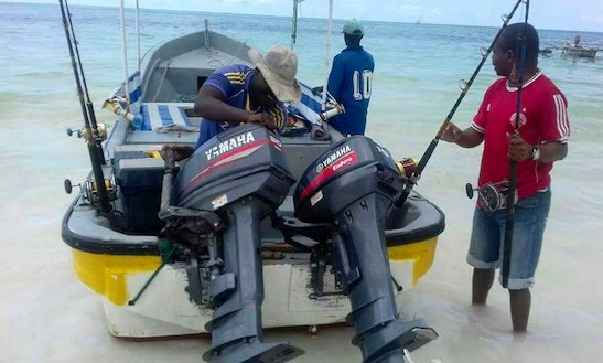 Enjoy Fishing In Kizimkazi, Tanzania On Dinghy