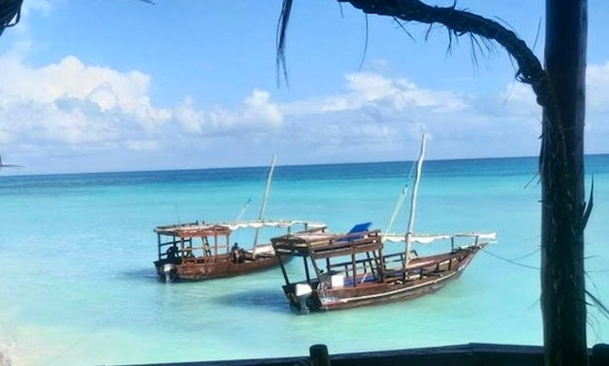 Cruise On A Traditional Boat Charter In Zanzibar, Tanzania