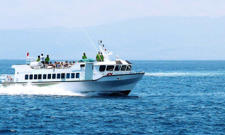 Boat Cruises on Motorboat Eka Jaya 19