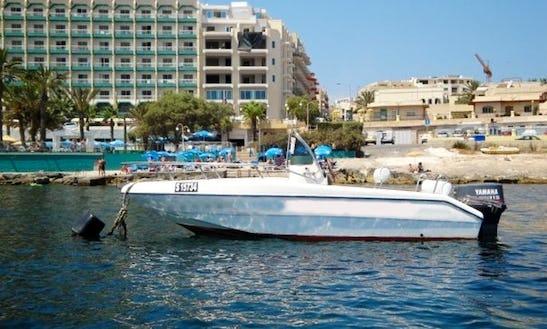 Bareboat Center Console Rental In San Pawl Il-baħar, Malta