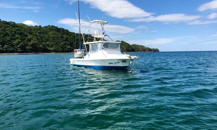 30' Sportfishing Charter for 6 People in Provincia de Guanacaste