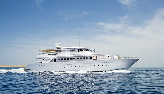 Charter 112' My Excellence Power Mega Yacht In Red Sea Governorate, Egypt