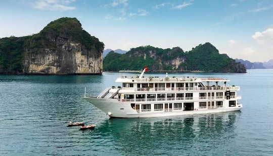 Enjoy A Private Cruise In Quốc Tử Giám, Vietnam On A Power Mega Yacht