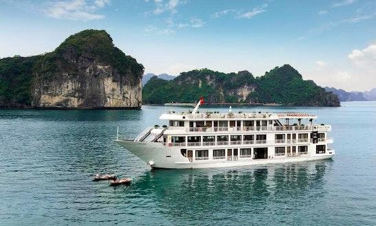 Enjoy A Private Cruise In Quốc Tử Giám, Vietnam On A Power Mega Yacht