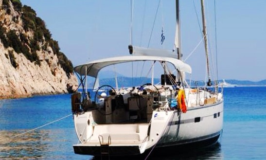 Luxury Bavaria 45ft Cruiser For Charter In Kefalonia. New Listing For 2016!