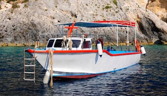 Charter Velos Passenger Boat In Zakinthos, Greece