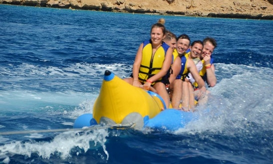 Banana Boat Rides In South Sinai Governorate, Egypt