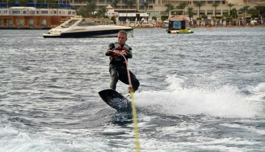 Experience Electrifying Wakeboarding In South Sinai Governorate, Egypt