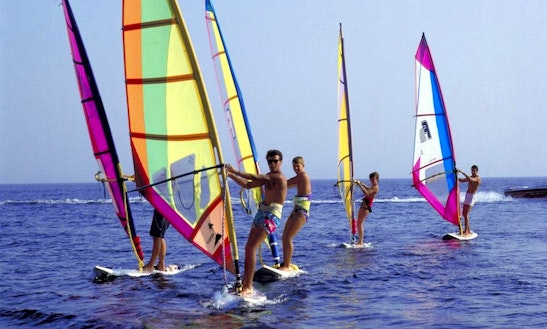Enjoy Windsurfing In South Sinai Governorate, Egypt