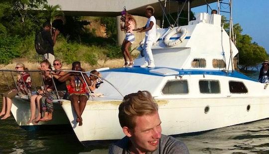 Enjoy Fishing In Mombasa, Kenya On A Power Catamaran