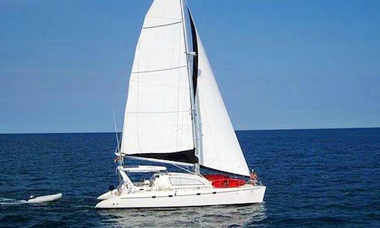 Charter 47' Dandelion Cruising Catamaran In Paje, Tanzania