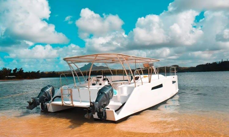 Charter a 25 Person on Power Catamaran in Port Louis, Mauritius