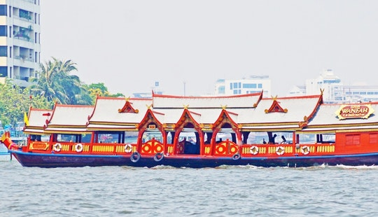 Classic Thai River Boat Tour For Up To 50 People In Bangkok, Thailand