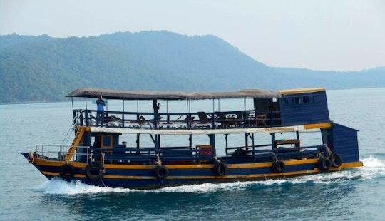 Charter A Passenger Boat In Krong Kampot, Cambodia