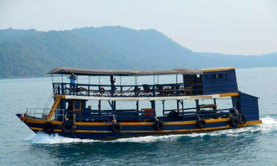 Charter A Passenger Boat In Krong Kampot, Cambodia