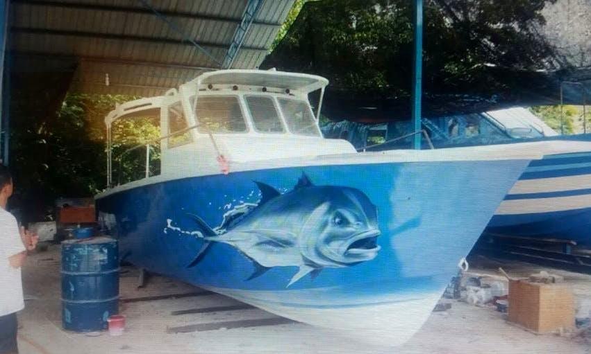 Professional Fishing Charter in Kuala Rompin, Malaysia