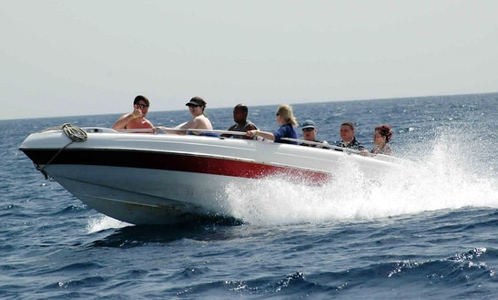 Rent A Deck Boat In Red Sea Governorate, Egypt For Up To 6 Person